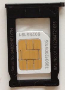 iPhone SIM 表