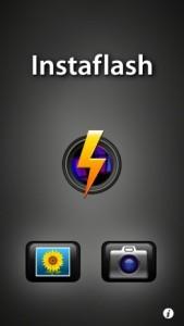 Instaflash起動画面