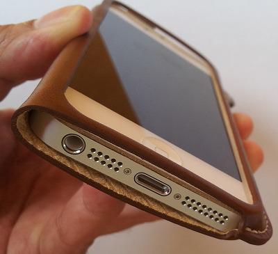 LIM'SケースiPhone5下側