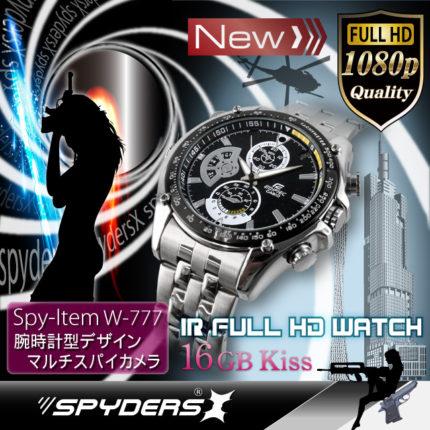 腕時計型スパイダーズX W-777